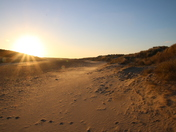 Norfolk Beaches: Setting Sun