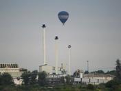 Hot Air Balloon  over Cantley