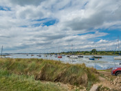 Out and about near water on the Shotley Peninsula