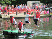 Needham Market Lake Raft Race 2018