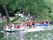 Needham Market Lake Raft Race 2018
