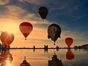 Beach balloons.