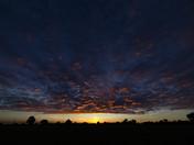Sunset near Harleston