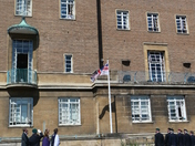 Armed forces Day flag raised in Norwich