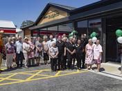 Harleston service station re-opens