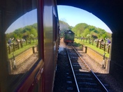 Mirror image at weybourne station