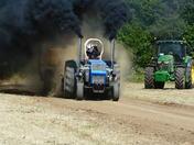 Debenham Charity Tractor Pulling Event