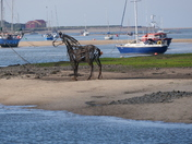 Lifeboat Horse at Wells