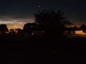 Night-shining clouds seen from Harleston