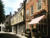Pretty streets of Norwich