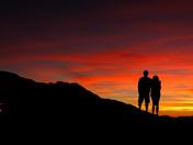 Serra Nevada silhouette