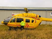 Helicopter in Dereham to rescue man who had fallen in Tesco