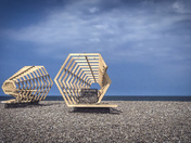 Cley Beach - Contemporary Art Festival