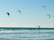 Windsurfing at Westward Ho!