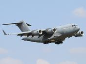 Rare visitor to RAF Mildenhall.