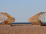 Beach Sculpture Cley