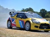 Citroen rally car