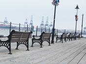 On halfpenny pier