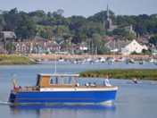 On The River Deben with Woodbridge In The Distance