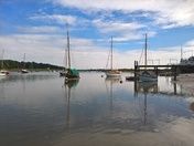 Reflections on the Deben
