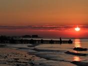 Sunset Oerstrand Beach