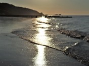 Sparkling Overstrand Beach