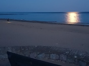 Full moon over Exmouth