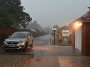 Heavy Rain after Hot weather