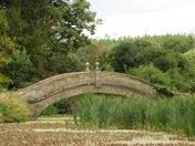 arche over a lake.