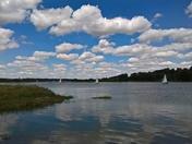 River Deben looking to Woodbridge