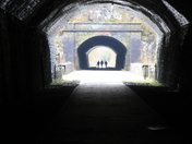 Underneath the arches!