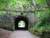 Horse tunnel archway.