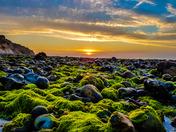 Sunset on Cromer Beach