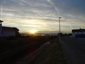 Sunset from Mudbank Lane, Exmouth