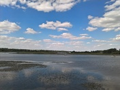 Cloud Reflections On The Deben Woodbridge
