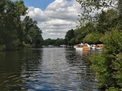 Boating at wroxham