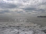 The Sea On Sumday Morning Felixstowe