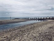 Reflections at beautiful Beach