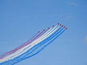 Red arrows at  Cromer