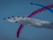 Red Arrows at Cromer Carnival 2018