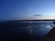 Exe Estuary after dusk