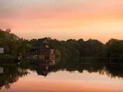 Nwt . Ranworth broad sunset