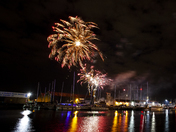 Ipswich Maritime Festival Fireworks