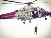 Rescue 187 giving a demo by Anchor Head