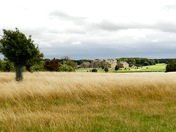 Holkham Hall from across the lake
