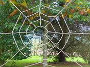 SYMMETRICAL. ROPE SPIDER WEB