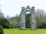 SYMMETRICAL. WALSINGHAM ABBEY