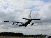 Antanov AN124 Transport landing at Wattisham 21 August