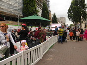 Families enjoying in Ilford High road