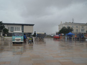 Rain at Food Festival